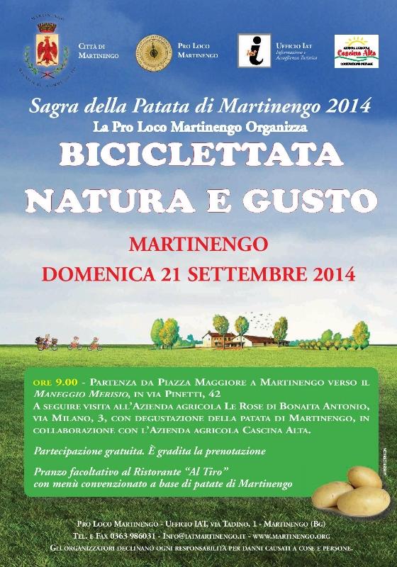biciclettata natura e gusta
