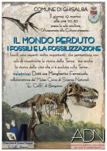 Il Mondo Perduto: i fossili e la fossilizzazione