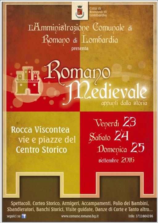 Romano di Lomardia, Romano Medievale