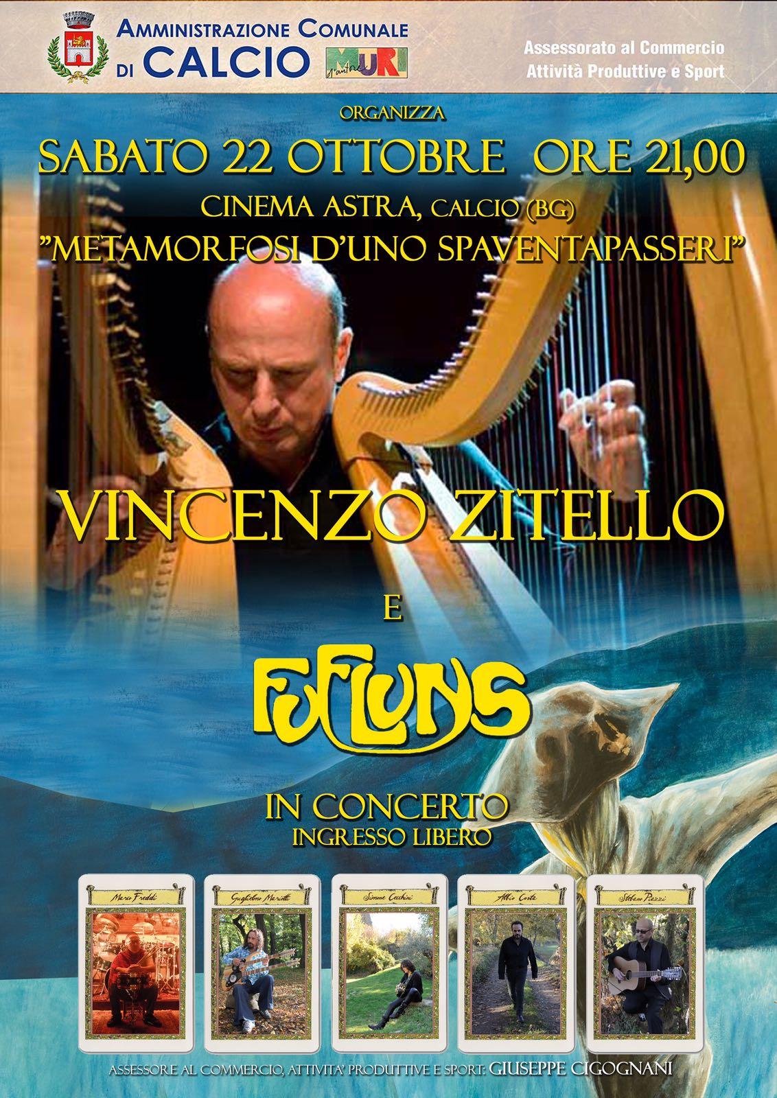Calcio, concerto di Vincenzo Zitello
