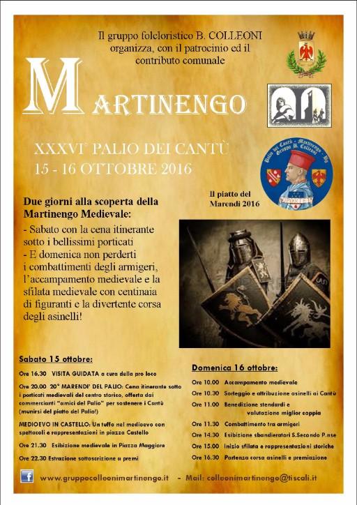 Martinengo, Palio dei Cantù