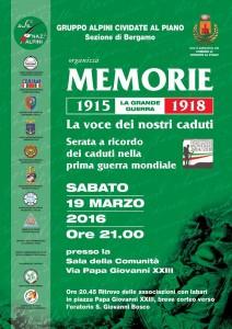 Memorie 1915-1918 - i nostri caduti
