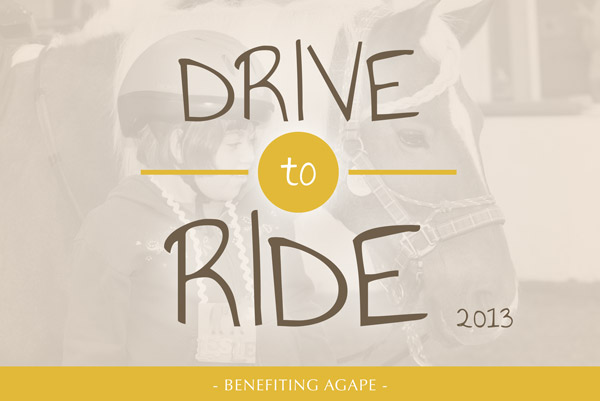 Agape's Drive to Ride 2013