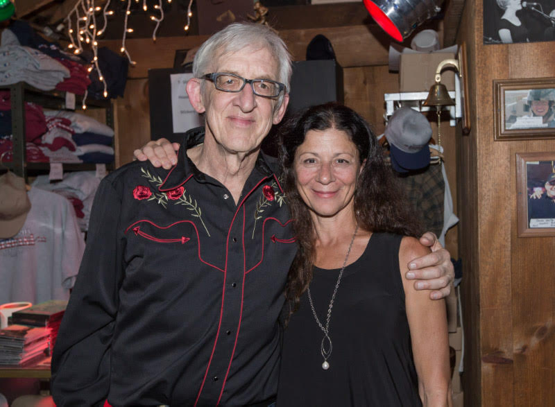 Bill Kirchen with Angela Hastings