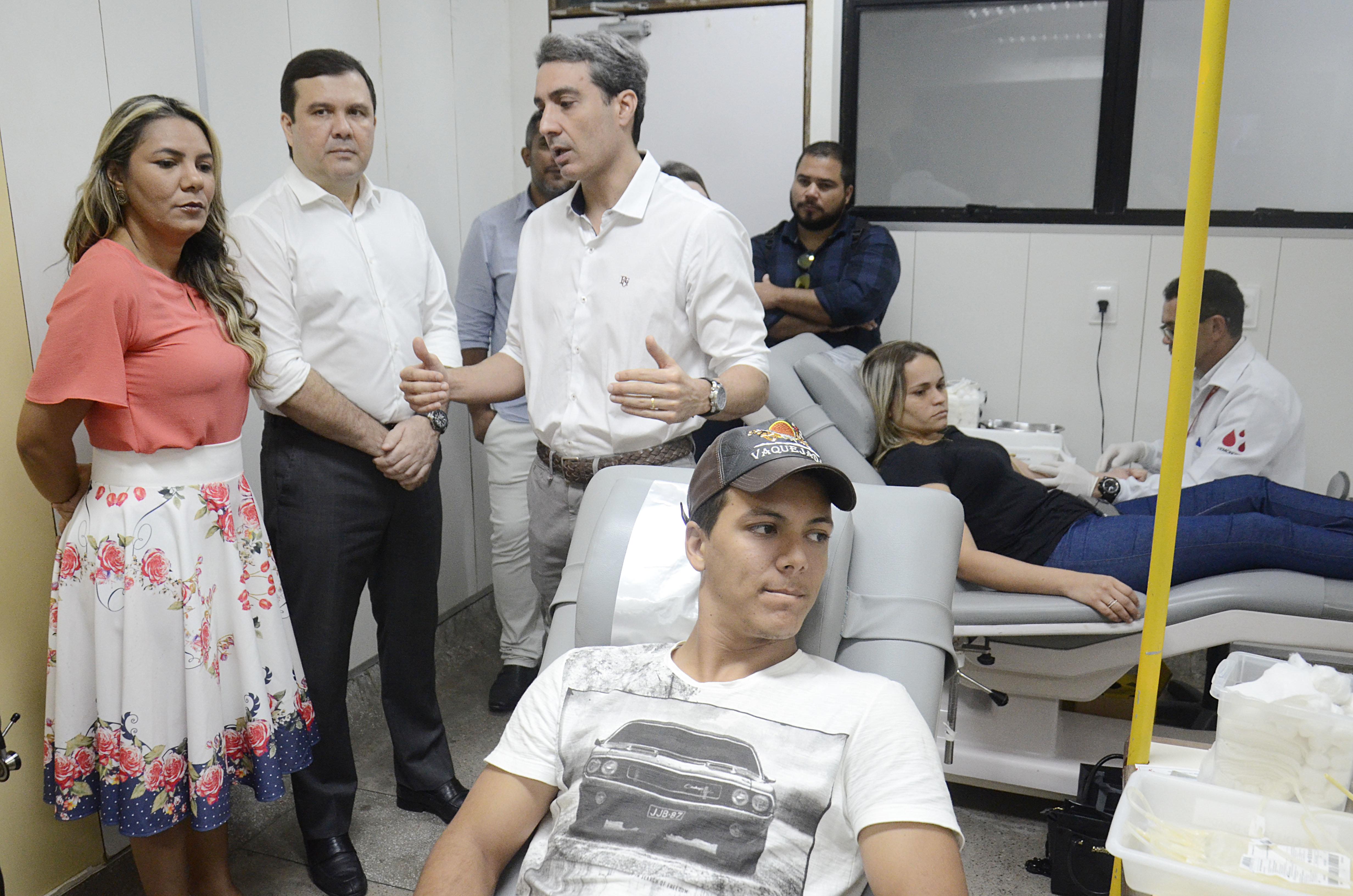 Comissão de Saúde visita Hemocentro do RN em busca de melhorias no atendimento