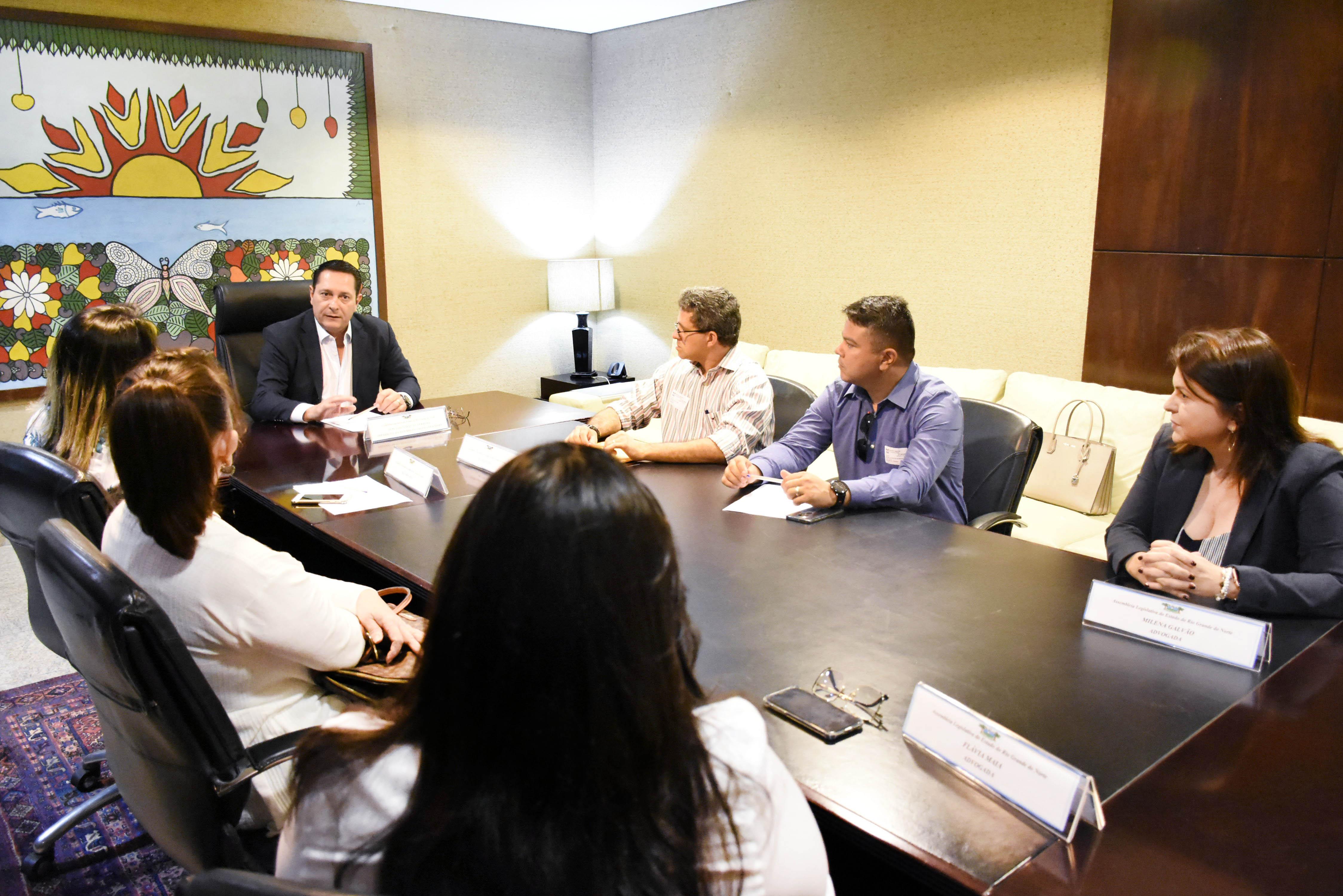 Ezequiel se junta às instituições de Currais Novos em prol da Central do Cidadão