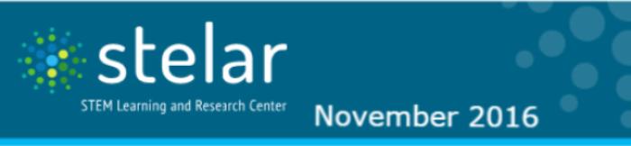 STELAR Newsletter header image