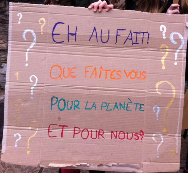 Fridays for future - Lyon - Mars 2019