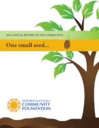 Cover of NCCF's 2015 Annual Report