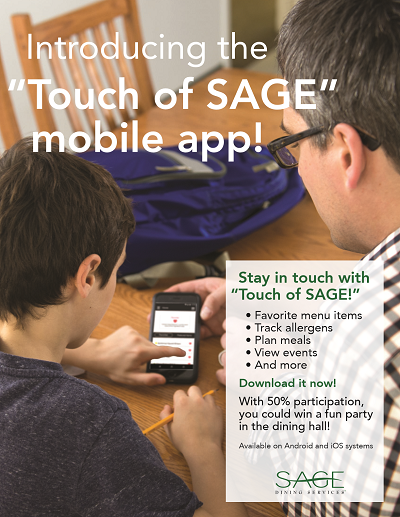 Touch of Sage Mobile App