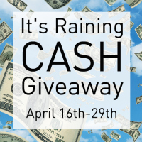 $550 It's Raining Cash Giveaway