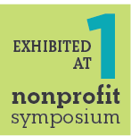 exhibited at nonprofit symposium
