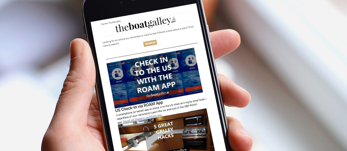 The Boat Galley Newsletter