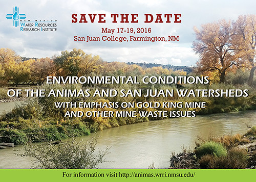 Save the Date Animas Conference