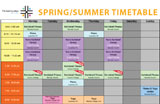 Timetable & Classes