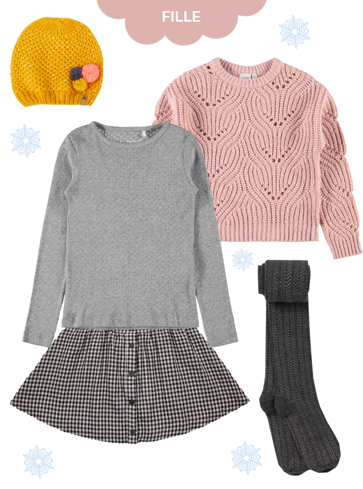 Look hiver fille