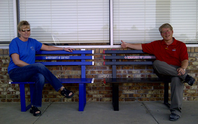 Sports Themed Benches