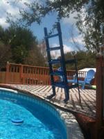 Custom Pool Access Ladder