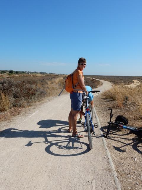 Fietsen in de Algarve door de Ria Formosa