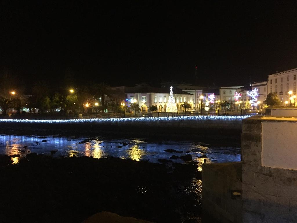 Kerstsfeer in Tavira