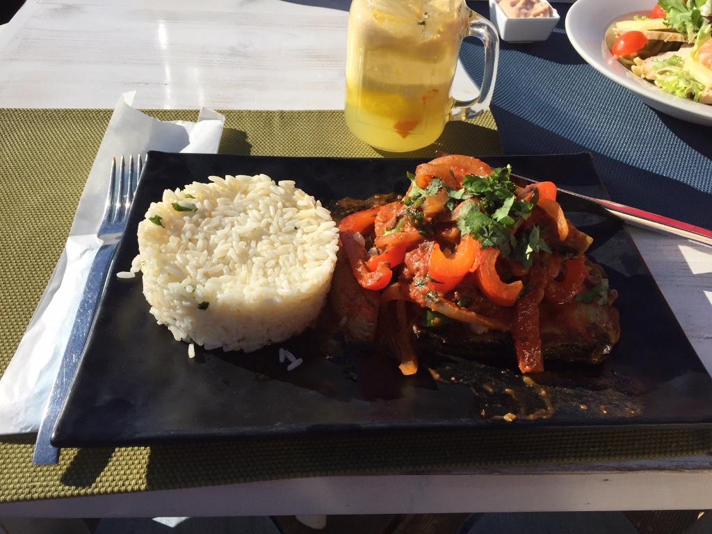 Heerlijk eten bij Alvaro de Campos Tavira