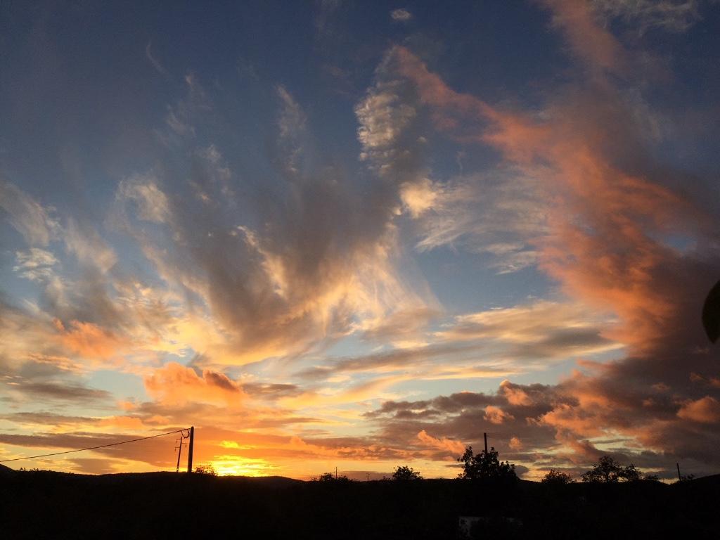 Zonsondergang bij Bed en Breakfast Algarve - Cas al Cubo