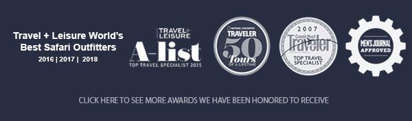 Africa Adventure Consultants Awards