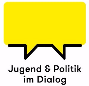Logo: Jugend & Politik im Dialog