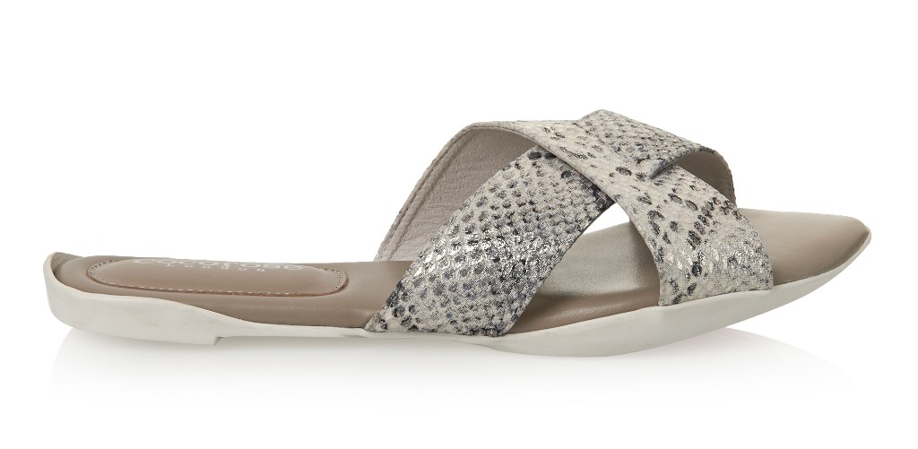 Cocorose London Charing Cross Silver Snakeprint