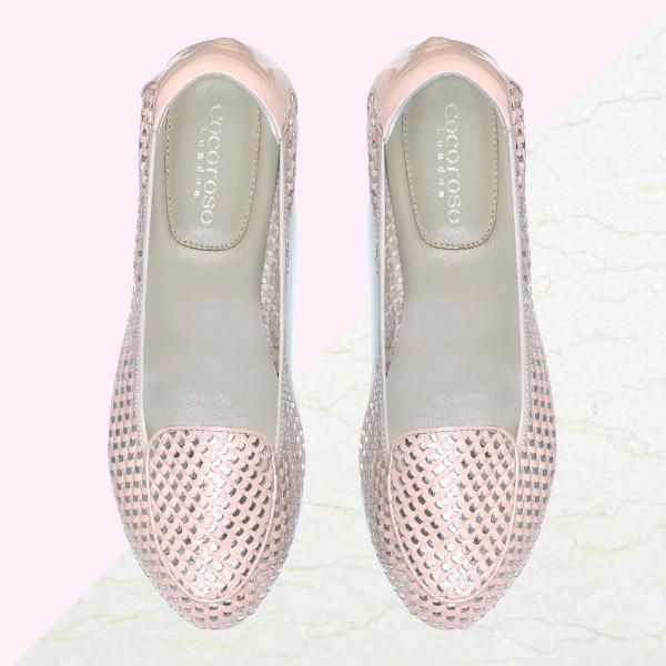 Clapham Pink & Silver