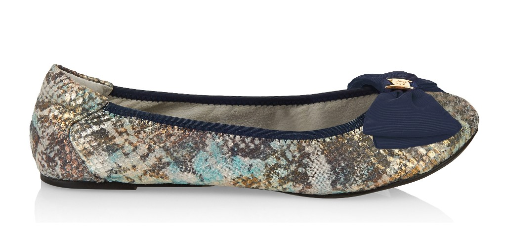 Cocorose London Buckingham Blue Snakeprint