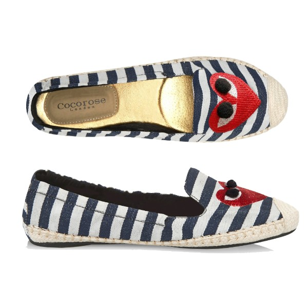 Carnaby Nautical Striped with Heart