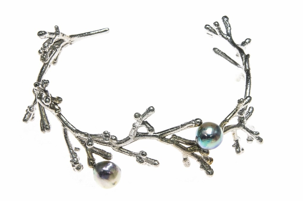 Woodland Pearl Bracelet