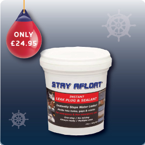 STAY AFLOAT EMERGENCY BUNG / SEALANT