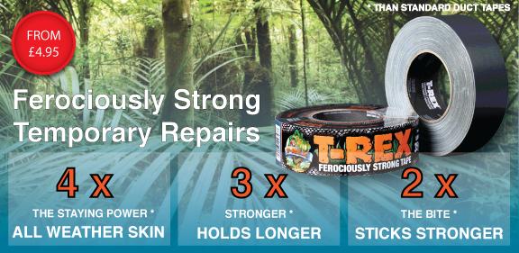 SHURTAPE - T-REX FEROCIOUSLY STRONG DUCK TAPE