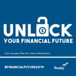 graphic unlock financial future