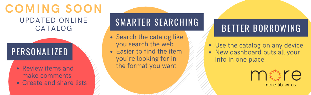 MORE online catalog graphic