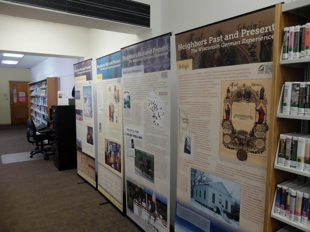 Wisconsin German History Exhibit posters
