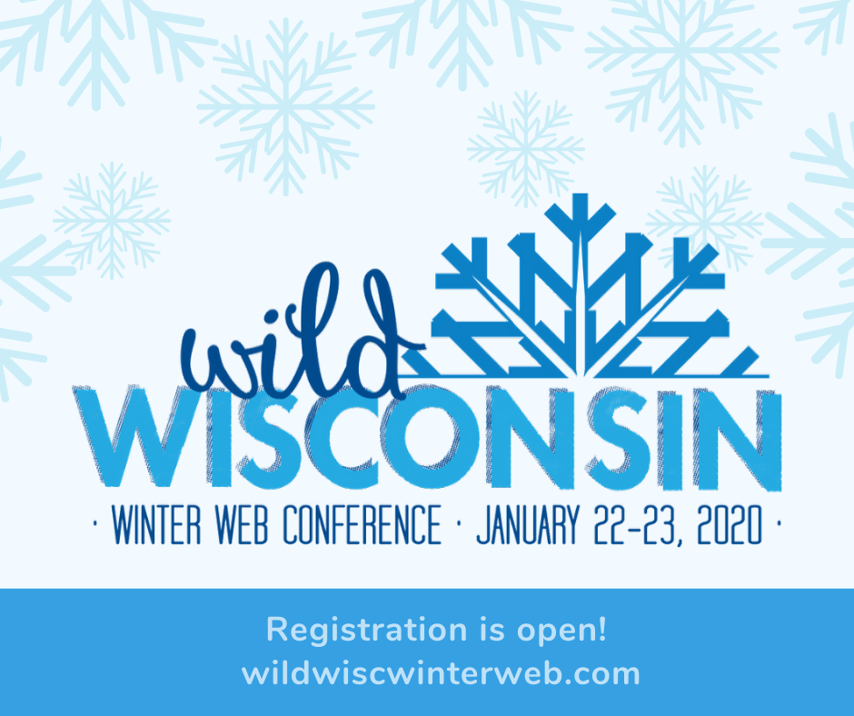 Wild Wisconsin Winter Web Conference Logo