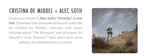 Cristina De Middel + Alec Soth