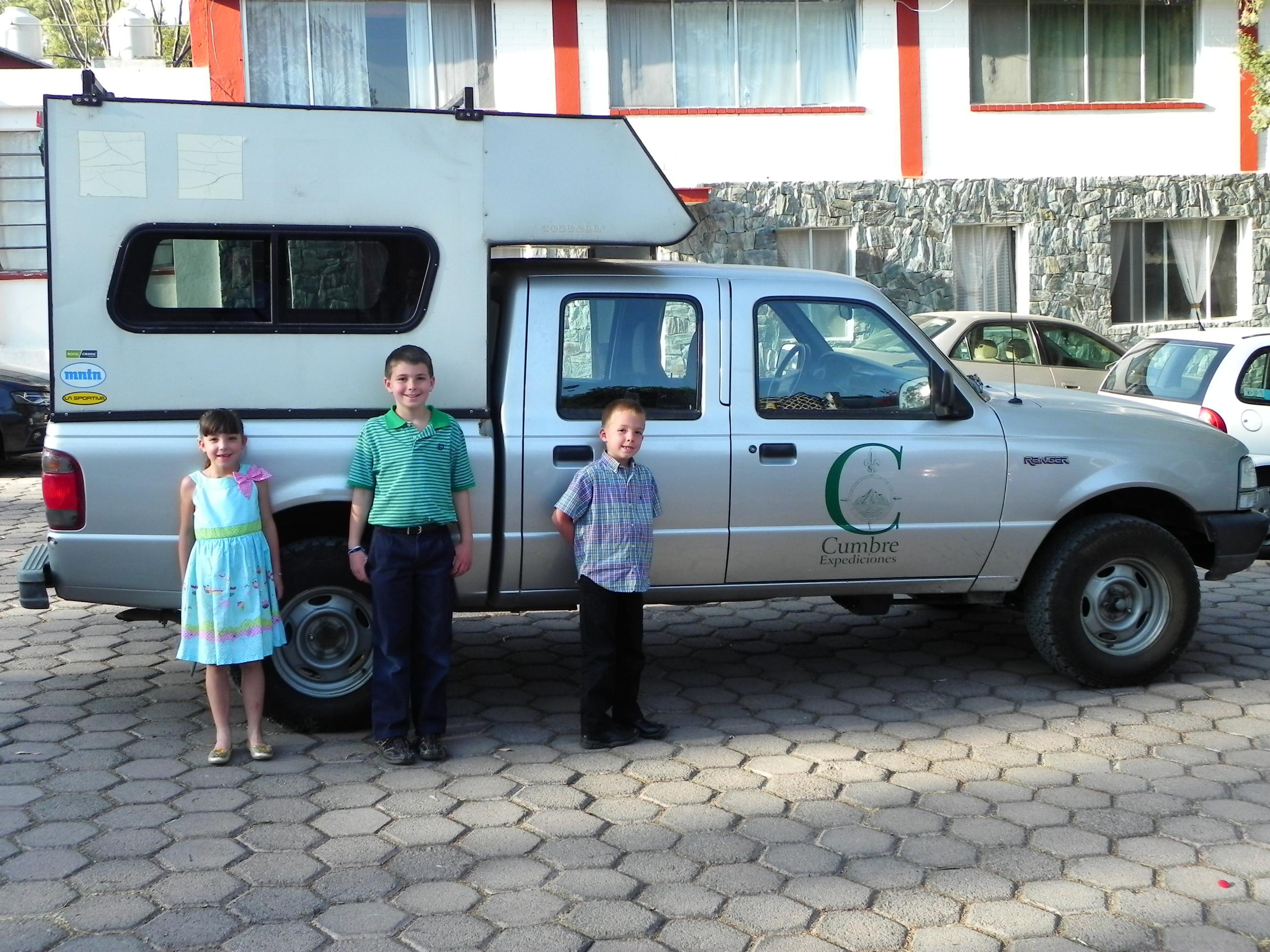 Kids Cumbre truck