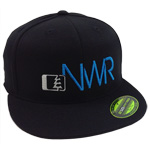 Initials Hat in Black-Blue - Northwest Riders Clothing