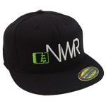Initials Hat in Black-White - Northwest Riders Clothing