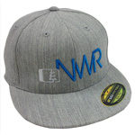 Initials Hat in Grey-Blue - Northwest Riders Clothing