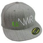 Initials Hat in Grey-White - Northwest Riders Clothing