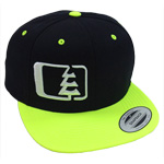 Snap in Black-White-Neon - Northwest Riders Clothing