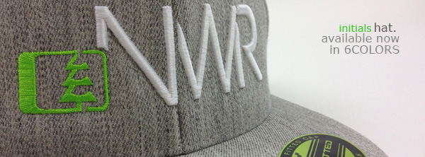 All New Initials Flatbill Hat - Northwest Riders Clothing