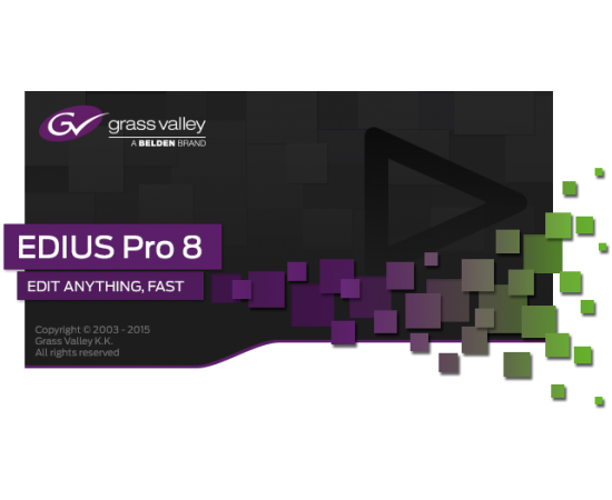 EDIUS Pro 8 software