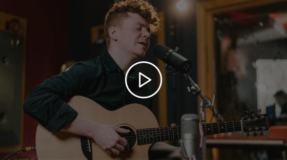 Tony McHugh Studio Session Video