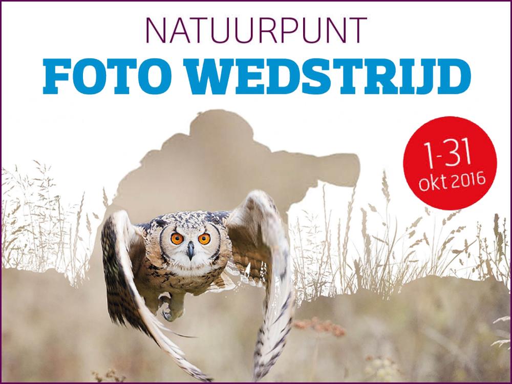 agenda Fotowedstrijd Natuurpunt 2016